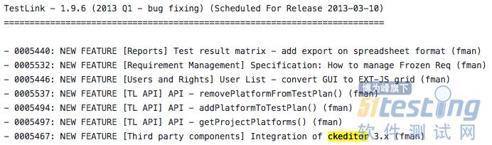 TestLink 1 9 16 - 修改CKEditor配置- 51Testing软件测试网