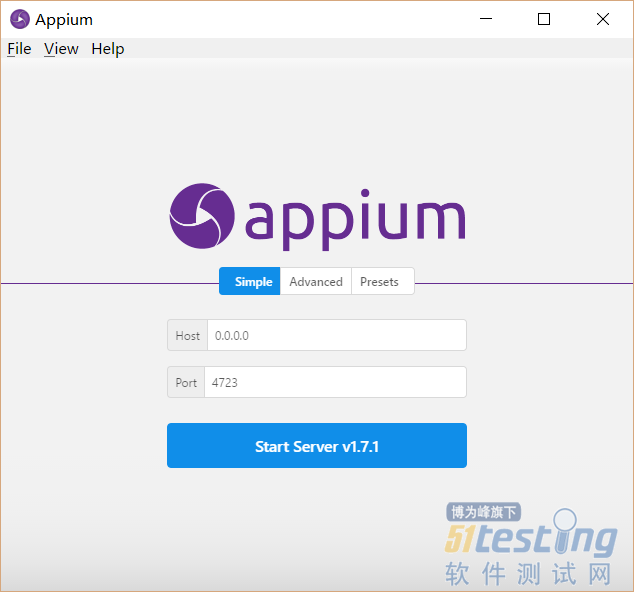 appium-desktop安装与使用